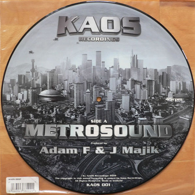 Adam F and J Majik - Metrosound