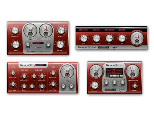The Scarlett bundle is designed for tracking and mixing.