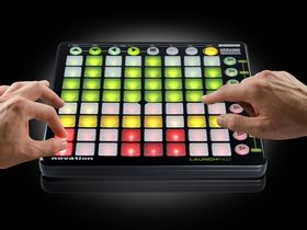Novation Launchpad is Ableton Live controller