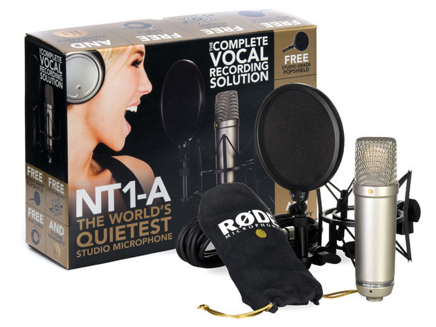 You get more than just the mic in this bundle.