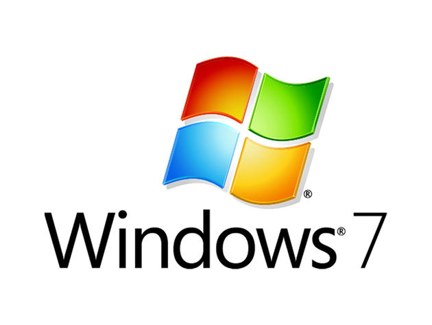 Windows 7: you're going to be seeing this logo a lot over the next couple of years.