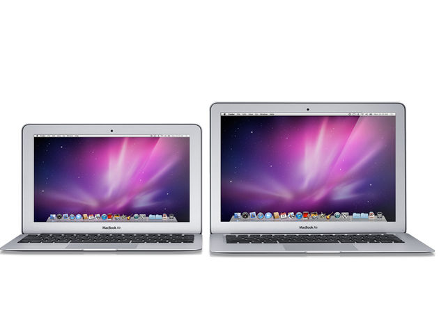 Take your pick from 11- and 13-inch MacBook Air models.