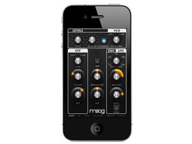 Moog iPhone app: Filtatron revealed