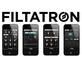 Moog announces Filtatron iPhone app