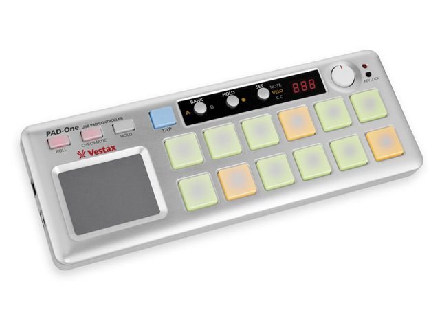 Vestax PAD-One: Another option for your laptop bag.