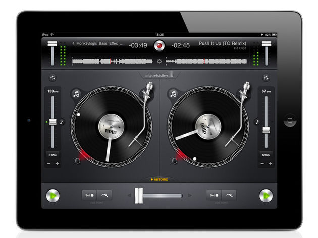 algoriddim djay/djay for iPhone, £13.99/$19.99 // 69p/$0.99