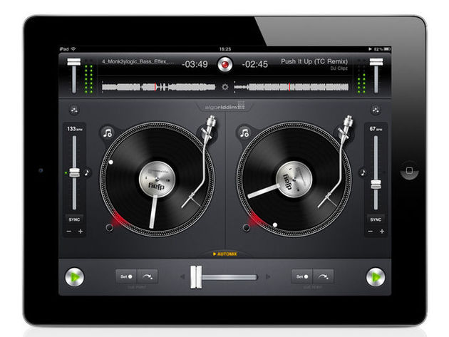 algoriddim djay/djay for iPhone, £13.99/69p