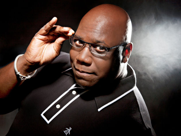 Carl Cox: his Sat Nav indicates that All Roads Lead to the Dancefloor.