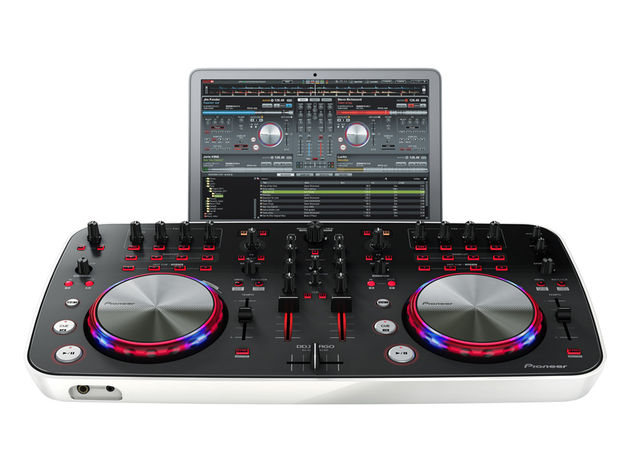 Pioneer's new DDJ-ERGO-V: click the image for more product shots.