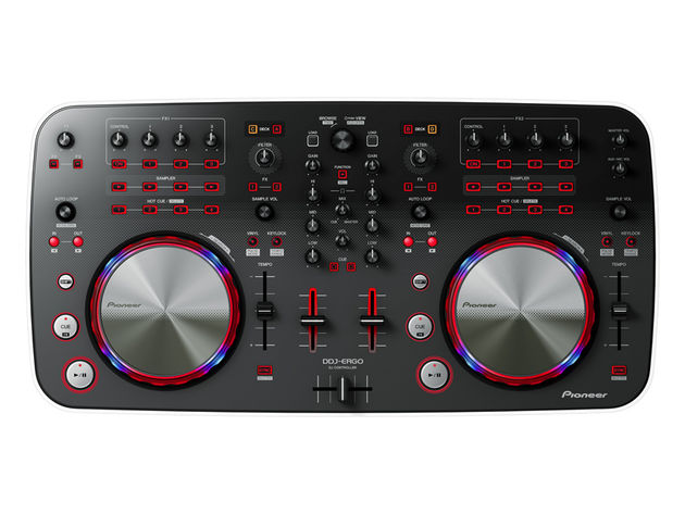 Pioneer DDJ-ERGO-V top view