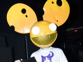 Deadmau5 has a cheesy epic meal time
