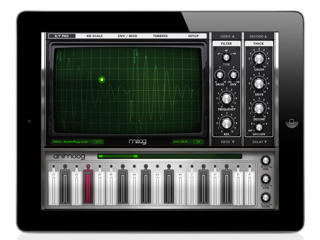 Moog Animoog: a no-brainer purchase for iPad owners.