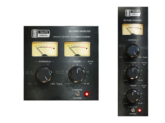 RC-Tube: one console, two plug-ins.