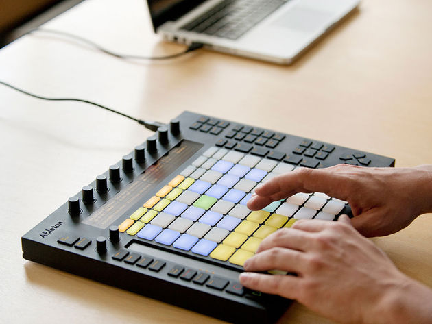 Ableton Push - Live 9's new counterpart