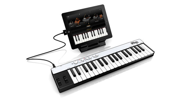 iGrand Piano is launching at the same time as IK's iRig Keys controller.