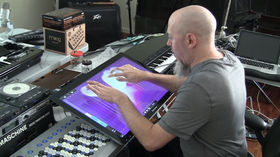 Jordan Rudess plays MorphWiz on Windows 8 PC and Surface tablet
