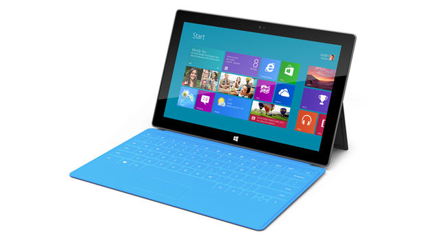 Microsoft Surface: the tablet that can also be a laptop.