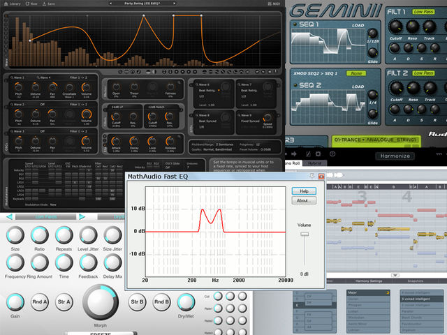 Five plug-ins for your consideration