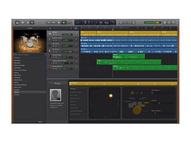Garageband for Mac and iOS