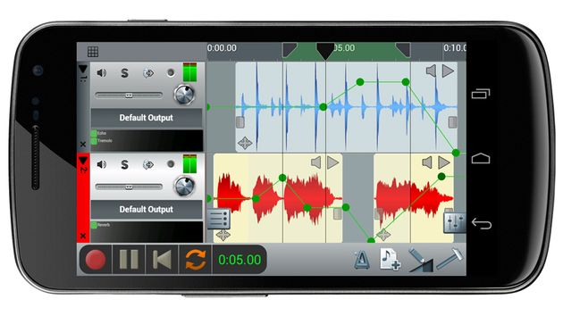 La version Android de l'application n-Track Studio suit de près la sortie d'une application iOS similaire