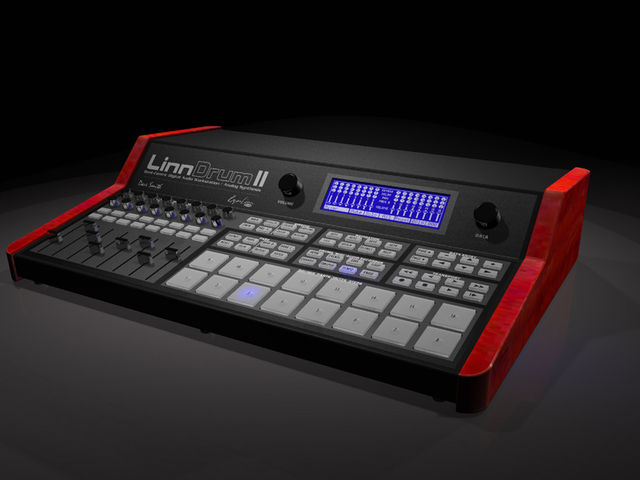 How the LinnDrum II won't look.