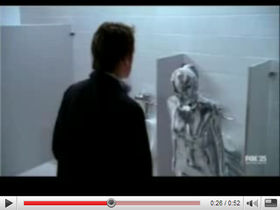 Shirley Manson plays urinal in Terminator show