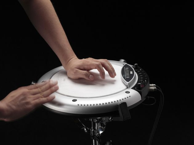 You'll be able to get your hands on the Wavedrum in December.