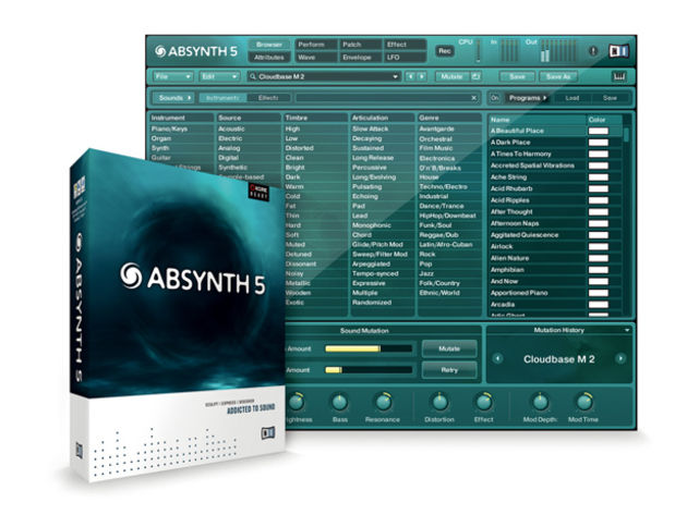 Could this be the most accessible version of Absynth yet?