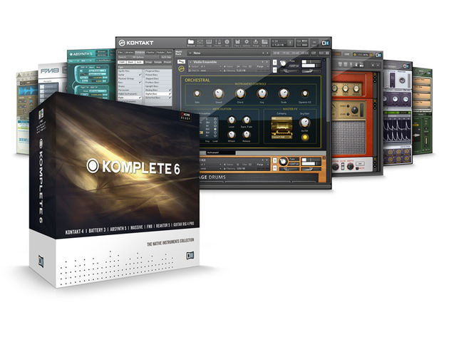 Komplete 6 contains all the new NI releases.