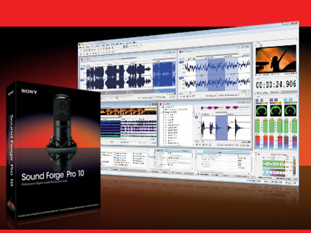 Sound Forge 10: one better than Sound Forge 9.