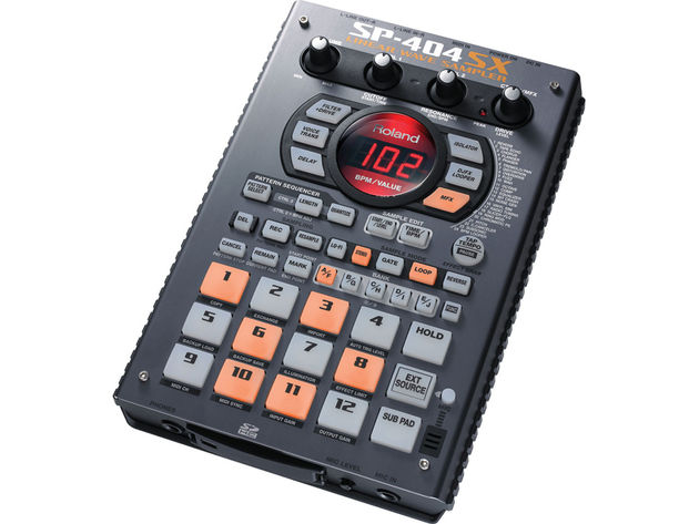 You can import samples into the SP-404SX or record via the built-in mic.