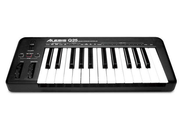 Alesis Q25: small but playable?