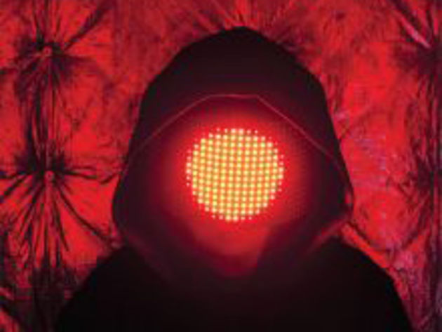 Squarepusher: working on his impression of a traffic light.