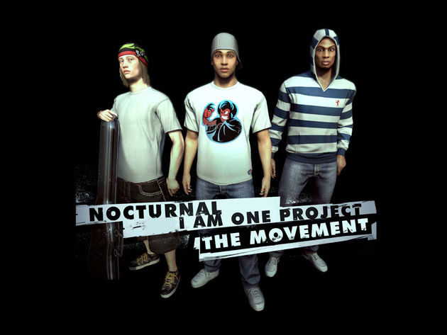 Nocturnal and I Am One Project get a video game character makeover.