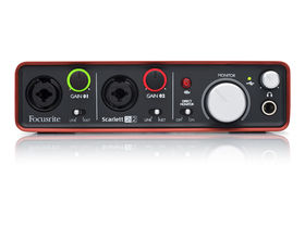 Focusrite unveils Scarlett 2i2 audio interface