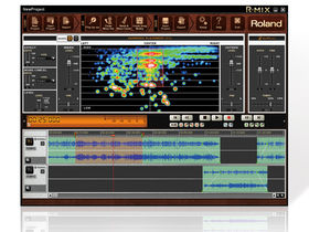 Roland R-Mix software lets you 'mix' stereo audio files