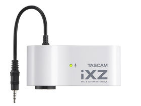 New iXZ iOS audio interface from Tascam