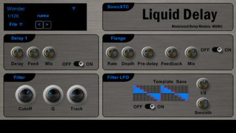 SonicXTC liquid delay