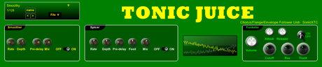 SonicXTC tonic juice