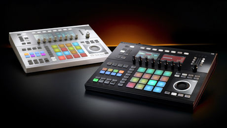 Maschine Studio will be available in black and white, it would seem.