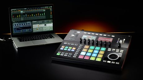 With Maschine Studio, you may spend less time looking at your laptop.