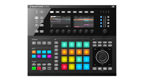 Maschine Studio is significantly bigger than the other products in the range.