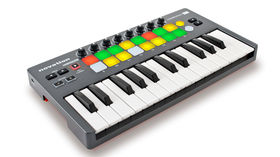 Novation Launchkey Mini controller offers keys, pads, knobs and more