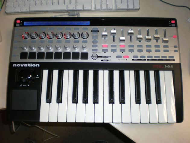 Novation's SL Mk II, fresh out of its wrapping.