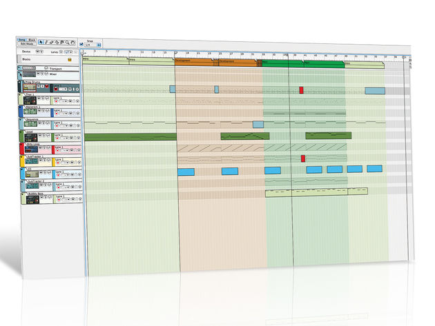 DAW features such as Reason's Blocks mode make it easier to structure your songs.