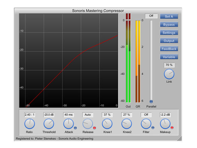 Sonoris Audio Engineering Mastering Compressor