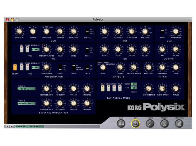 Korg Legacy PolySix