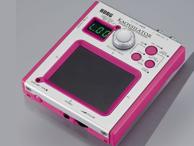 In the pink: the Kaossilator.
