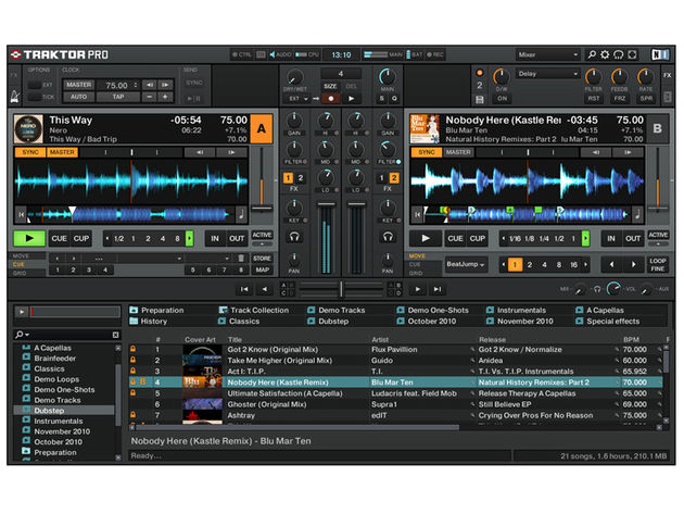 Traktor Pro 2 in all its revamped glory.