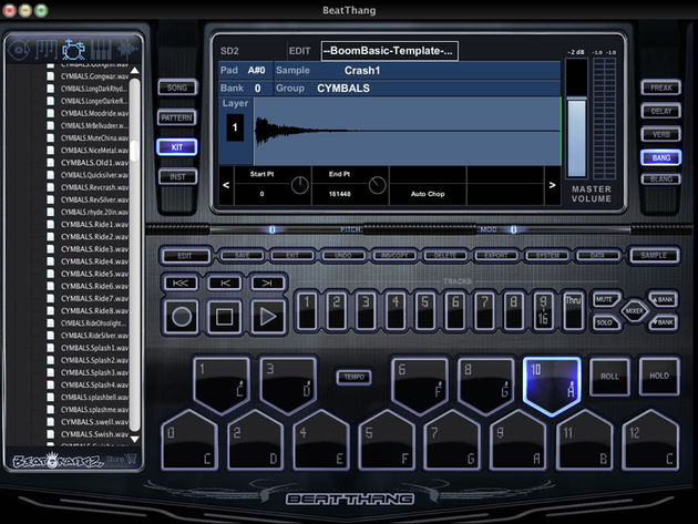 Beat Thang Virtual: the newest beat machine on the block.